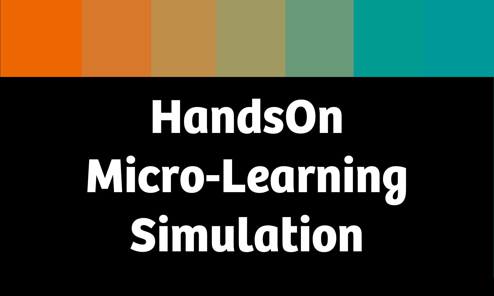 HandsOn Micro-Learning Simulation